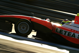 Doru Sechelariu, Tech 1, Jerez GP3 testing