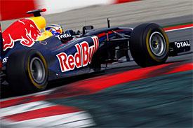 Sebastian Vettel, Red Bull, Barcelona testing