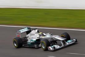 Nico Rosberg, Mercedes, Catalunya testing 2011