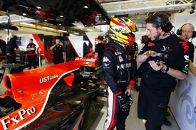 Rio Haryanto tests for Virgin