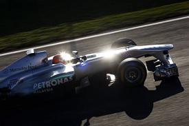 Michael Schumacher, Mercedes, Catalunya testing