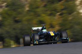 Heikki Kovalainen, Lotus, Jerez testing 2011