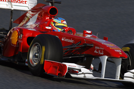 Fernando Alonso, Ferrari, Catalunya testing 2011