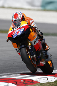 Casey Stoner, Honda, Sepang testing February 2011