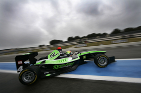 Alexander Sims, Status, Paul Ricard GP3 testing March 2011