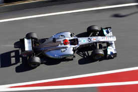 Michael Schumacher, Mercedes, Catalunya testing