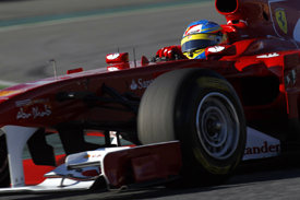 Fernando Alonso, Ferrari, Catalunya testing 2011