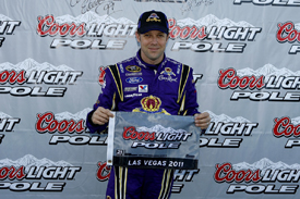 Matt Kenseth takes Las Vegas pole