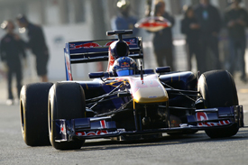 Daniel Ricciardo, Toro Rosso, Catalunya testing