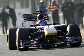 Daniel Ricciardo, Toro Rosso, Catalunya testing