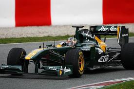 Davide Valsecchi tests for Lotus