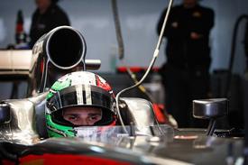 Tonio Liuzzi, Hispania, Catalunya testing 2011