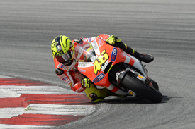 Valentino Rossi, Ducati, Sepang testing 2011