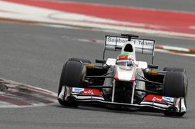 Sergio Perez, Sauber, Catalunya 2011