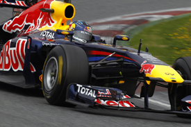 Sebastian Vettel, Red Bull, Catalunya testing 2011