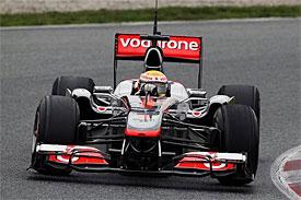 Lewis Hamilton, McLaren, Barcelona testing