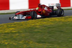 Felipe Massa, Ferrari, Catalunya testing 2011