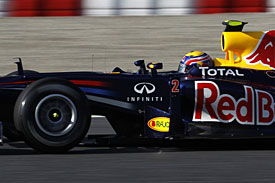 Mark Webber, Red Bull, Barcelona test 2011