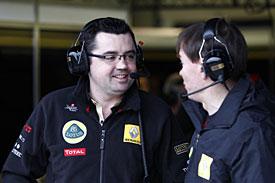 Eric Boullier, Renault, testing, 2011