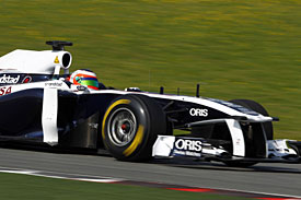 Pastor Maldonado, Williams, Barcelona 2011