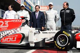 HRT F111 launch