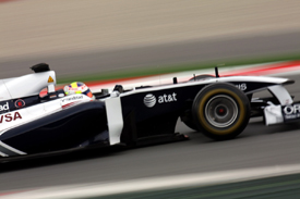 Pastor Maldonado, Williams, Catalunya testing