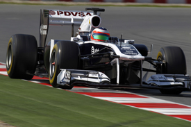 Rubens Barrichello, Williams, Catalunya testing 2011