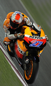 Casey Stoner, Honda, Losail testing March 2011