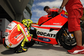 Valentino Rossi has a lot of work ahead of him