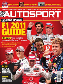 AUTOSPORT magazine