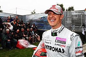 Michael Schumacher, Melbourne 2011, Thursday