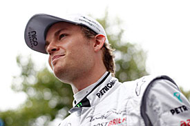Nico Rosberg, Mercedes, Australia 2011, Thursday