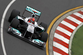 Michael Schumacher, Mercedes, Melbourne 2011