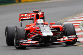 Timo Glock, Virgin, Melbourne 2011