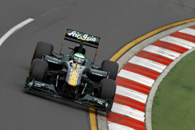 Heikki Kovalainen, Lotus, Melbourne 2011
