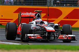 Jenson Button, McLaren, Australian GP
