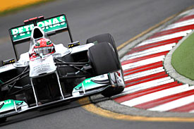 Michael Schumacher, Mercedes, Australia 2011