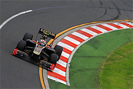 Vitaly Petrov, Renault, Australian GP