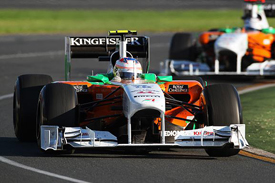 Paul di Resta, Force India, Melbourne 2011