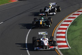 Sergio Perez, Sauber, Australia 2011