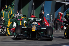 Jarno Trulli, Lotus, Melbourne 2011