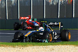 Lotus adamant it will show progress