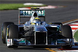 Nico Rosberg, Mercedes, Australian GP