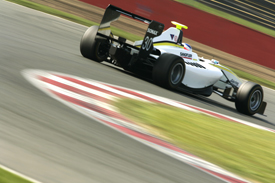Michael Christensen, RSC Mucke, Silverstone GP3 testing