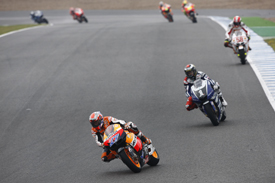 Casey Stoner leads at Jerez