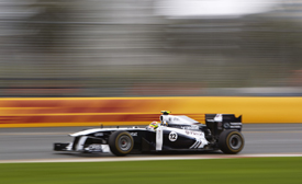 Pastor Maldonado, Williams, Melbourne 2011