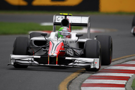 Tonio Liuzzi, Hispania, Melbourne 2011