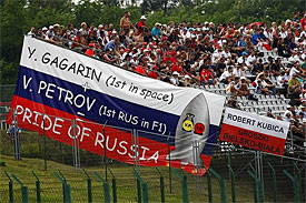 Russian GP circuit 'well on track'