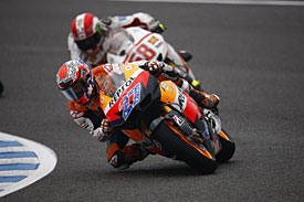 Casey Stoner at Jerez