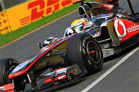 Lewis Hamilton, McLaren, Australian GP